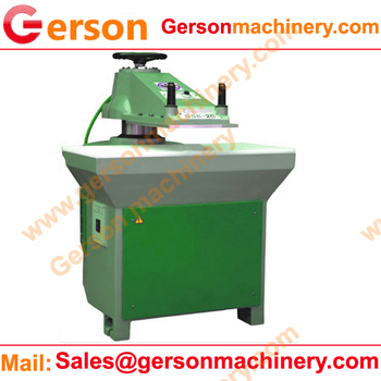 14T clicker press machine for leather and fabric