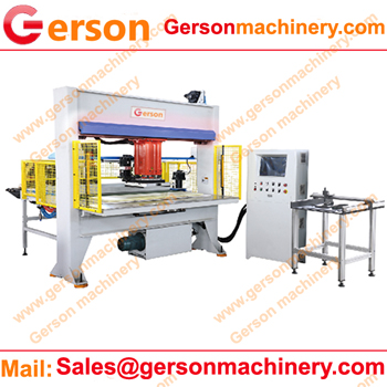 50 ton traveling head cutting machine