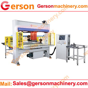 CNC Automatic feeding traveling head die cutting press machine