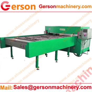 China hydraulic four-column precise cutting machine