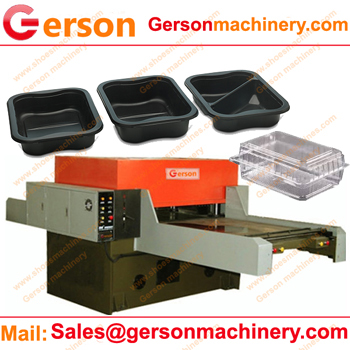 Clamshell Packaging Die Cutting Machines