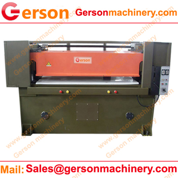 Closed cell foam die punch press