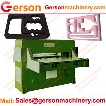 Foam hydraulic die cutting machine