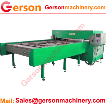Four column full beam die cutting press machine