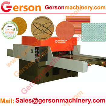 Hardboard Cork Backed Placemats Cutting Machine