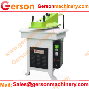 High open light swing arm cutting machine clicker press