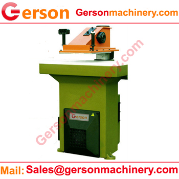 Hydraulic swing arm bag cutting machine
