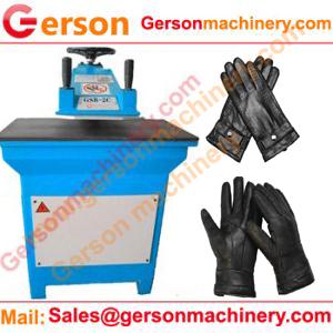 Leather Gloves Hydraulic CuttingMachine