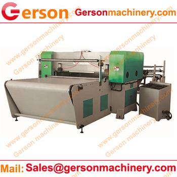 Non-woven cloth cutting machine