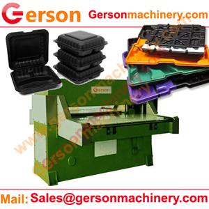 Silicone Ice Cube Tray Sheet Hydraulic Die Cutting Machine