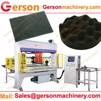 Sponge foam sheet hydraulic traveling head cutting machine forsale