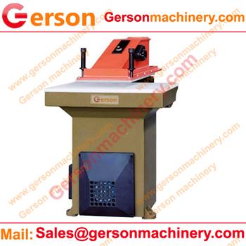 Textile clicker press machine