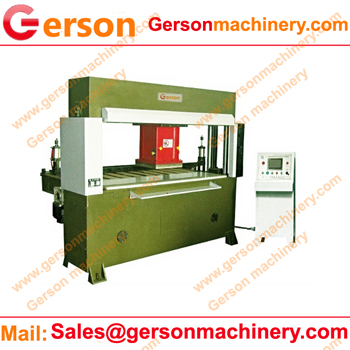 automatic feeding die cutting press