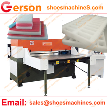 Epe foam sheet die cutting machine with manual and autoamtic feed