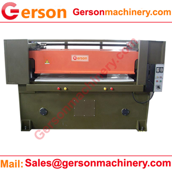 Front and rear beam moving cutting machine