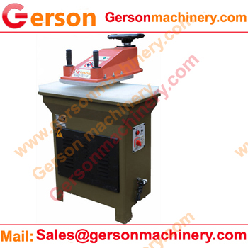 leather strap die cutting press