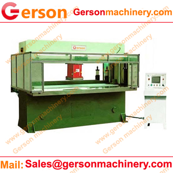 movables head cutting machine press