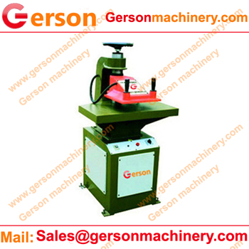 plush textile die cutting press for sale