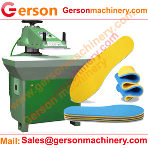 shoes insole die cutting machine for making shoes insole