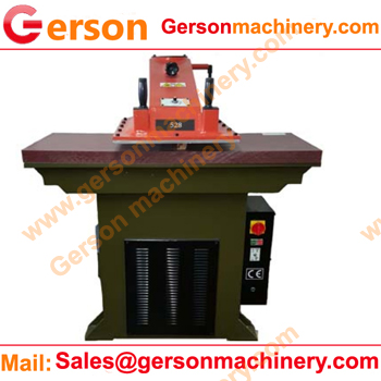 large width swing head die cutting press machine